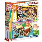 Puzzle 2x20 44 Gatti (24758)