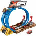 Pista super scontri XRS Muddy Racing Veicolo Saetta McQueen Incluso (FYN85)