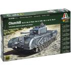 Carro armato Churchill Mk.III/IV/Avre/Na75 1/56 (IT15760)