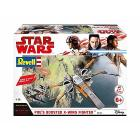 Astronave Build & Play Boosted X-Wing Fighter di Poe (RV06763)
