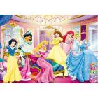 Puzzle 104 pezzi -Princess - Dress Room (27763)