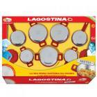 Batteria Lagostina Metal Maxi formato (2765N)