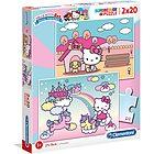 Puzzle 2x20 Hello Kitty (24765)