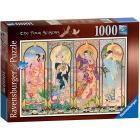 Puzzle 1000 pezzi Le Quattro Stagioni