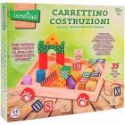 Carretto Trainabile 35 pezzi in legno (37771)