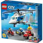Inseguimento sull'elicottero della polizia - Lego City (60243)