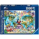 Puzzle Mappamondo Disney (15785)