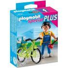 Idraulico con bici (4791)