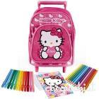 Mini trolley con colori Hello Kitty
