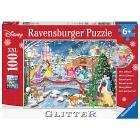 Principesse Disney. Puzzle con glitter (10794)