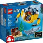 Minisottomarino oceanico - Lego City (60263)