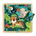 Puzzle Giungla in legno (DJ01810)