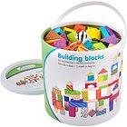 Cubi in legno colorati - 100 pz (10813)
