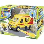 Camioncino corriere Junior Kit Delivery Truck con personaggio 1/20 (RV00814)
