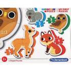 Animali Del Bosco My First Puzzle 3 - 6 - 9 - 12 Pezzi (20814)