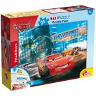 Puzzle Double Face Supermaxi 35 Cars