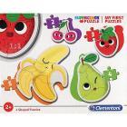 Frutta E Verdura My First Puzzle 3 - 6 - 9 - 12 Pezzi (20815)