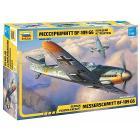 Aereo Messerschmitt Bf-109 G6 1/72 (ZS4816)