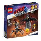 Batman pronto alla battaglia e Barbacciaio - Lego Movie 2 (70836)