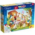 Puzzle Double Face Supermaxi 35 Mickey