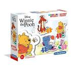 My First Puzzle - 3-6-9-12 Pezzi - Winnie The Pooh