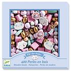 Perline in legno Arcobaleno (DJ09823)