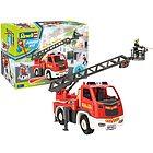 Camion pompieri con personaggio (00823)