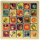 Magnetic Alphabet Puzzle Alfabeto magnetico in legno (BX1268Z)