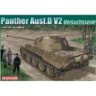 Carro armato Panther AUSF.D V2 Versuchsserie 1/35 (DR6830)