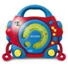 Lettore cd blu e rosso Bontempi (SD99702)