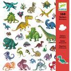 160 Adesivi Dinosauri (DJ08843)