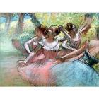 Degas: quattro ballerine sulla scena (14847)