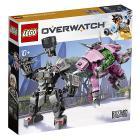D.Va e Reinhardt - Lego Overwatch (75973)