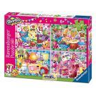Shopkins Puzzle 4x42 Bumper Pack (06855)