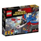 Inseguimento sul jet di Capitan America - Lego Super Heroes (76076)
