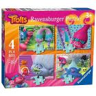 Puzzle Trolls 4 in a Box (06864)