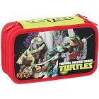 Astuccio triplo Turtles completo con 43 pezzi