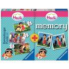 Heidi Multipack 3 Puzzle e 1 Memory (06873)
