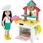 Barbie Chelsea Pizza chef GTN63