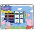 Valigetta  7t - 12 pennarelli Peppa Pig