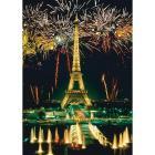 Fuochi d'artificio alla Tour Eiffel