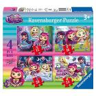 Puzzle Little Charmers 4 in a Box (06886)