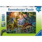 Puzzle 100 pezzi L'oasi Dei Dinosauri (12888)