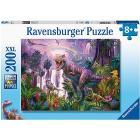 Puzzle 200 pezzi Paese Dei Dinosauri (12892)