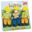 Set 3 personaggi lavori stradali (BK903)