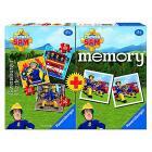 Multipack memory + 3 puzzle Sam il Pompiere (06910)