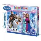 Puzzle Super Color 104 pezzi Frozen (27912)