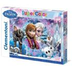 Puzzle Super Color 104 pezzi Frozen (27913)