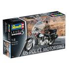 Motocicletta Polizia U.S. 1/18 (RV07915)