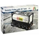 Rimorchio Tecnokar 20' Tank Trailer 1/24 (IT3929)